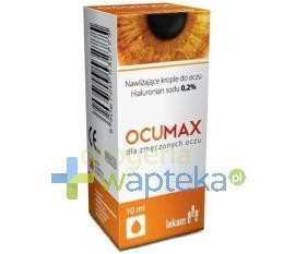 OCUMAX 0.2 % krople do oczu 10 ml
