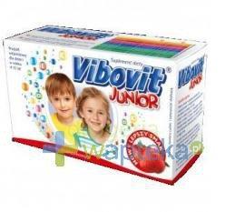 Vibovit Junior truskawka 15 saszetek