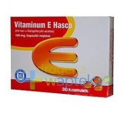 Vitaminum E 300mg 30 kapsułek HASCO TYLKO NA RECEPTĘ