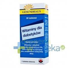 Witaminy dla diabetyków 30 tabletek