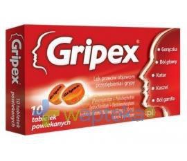 Gripex 10 tabletek USTAWA!