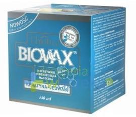 BIOVAX Maseczka keratyna + jedwab 250 ml