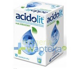 Acidolit smak jabłkowy 10 saszetek