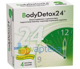 BodyDetox24 proszek 4 saszetki  whited-out