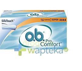 Tampony higieniczne OB ProComfort Super 16 sztuk