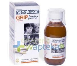 Neoglucan Grip Junior syrop 120 ml