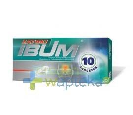 Ibum Zatoki 10 tabletek USTAWA!