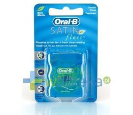 Nici dentystyczne ORAL-B Satin Floss mint 25 m