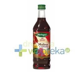 Owocowa Spiżarnia syrop malinowy z cytryną 420 ml