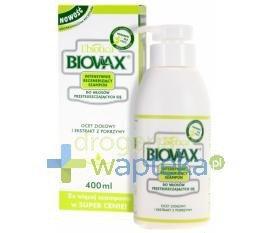 BIOVAX szampon intensywnie regenerujący włosy przetłuszczające się 400ml