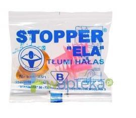 Stopper tłumiący do uszu ELA 201 1para