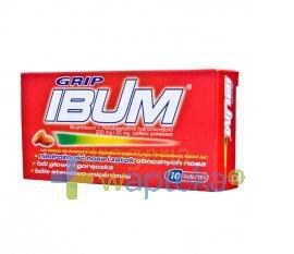 IBUM GRIP 10 tabletek USTAWA!