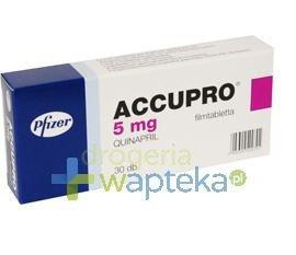 Accupro 5 tabletki powlekane 5mg 30 sztuk