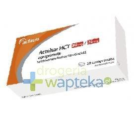 Actelsar HCT 80mg + 12,5mg tabletki 28 sztuk