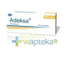 Adeksa 50mg tabletki 30 sztuk