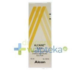 Alcaine krople do oczu 0,5% 15 ml