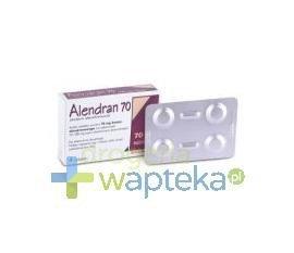 Alendran 70 mg  tabletki  4 sztuki