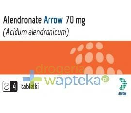 Alendronate Arrow 70 mg tabletki 4 sztuki