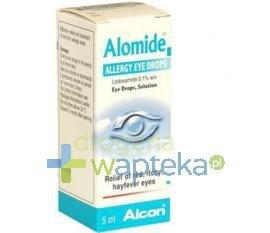 Alomide 0,1% krople do oczu 5 ml