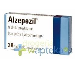 Alzepezil tabletki powlekane  5mg 28 sztuk
