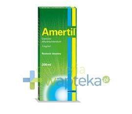 Amertil roztwór doustny (1 mg / ml) 200 ml