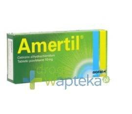 Amertil tabletki powlekane 10 mg 30 sztuk