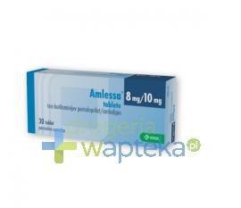 Amlessa tabletki  8mg+5mg 30 sztuk
