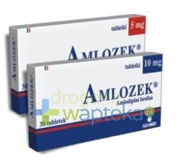 Amlozek tabletki 10 mg 30 sztuk