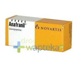 Anafranil tabletki powlekane 25 mg 30 sztuk