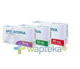 Apo-Atorva 20mg tabletki powlekane 30 sztuk