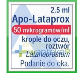 Apo-Lataprox 0,05mg/ml krople do oczu 2,5ml