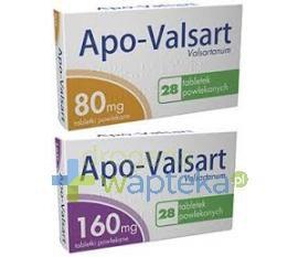 Apo-Valsart 160mg tabletki powlekane 28 sztuk
