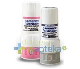 Asmanex Twisthaler (400 mcg/dawkę) proszek do inhalacji 60 doz.