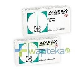 Atarax tabletki powlekane 25 mg 25 sztuk