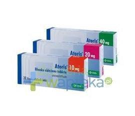 Atoris 20 mg tabletki powlekane 60 sztuk