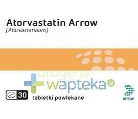Atorvastatin Arrow 10mg 30 tabletek