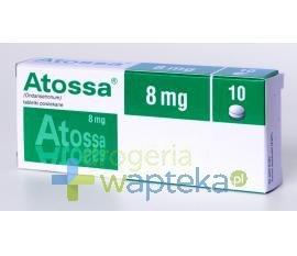 Atossa tabletki powlekane 8 mg 10 sztuk