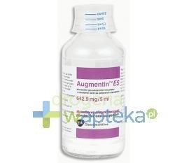 Augmentin ES preparat do przygotowania zawiesiny (642,9 mg / 5 ml) 50 ml