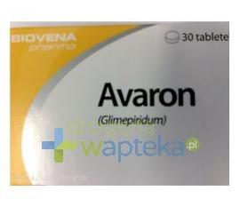 Avaron 4 mg tabletki 30 sztuk