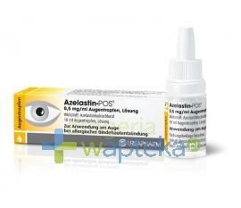 Azelastin POS 0,5 mg/ml krople do oczu roztwór 10 ml