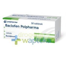 Baclofen tabletki 10 mg 50 sztuk