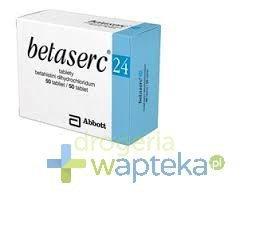Betaserc tabletki 24 mg 50 sztuk