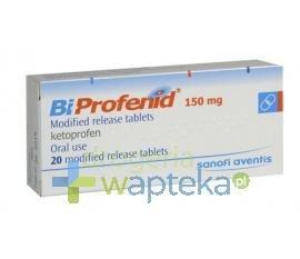 Bi-Profenid tabletki o zmodyfikowanym uwalnianiu 150 mg 20 sztuk