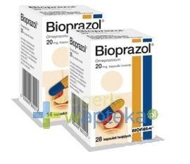 Bioprazol kapsułk twarde 20 mg 28 sztuk
