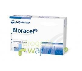 Bioracef 125 mg tabletki powlekane 14 sztuk