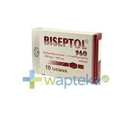 Biseptol 960 tabletki 10 sztuk