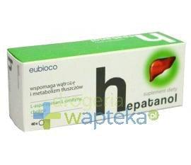 Hepatanol 40 tabletek  whited-out