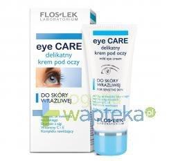 FLOS-LEK Delikatny krem pod oczy 30 ml 11589