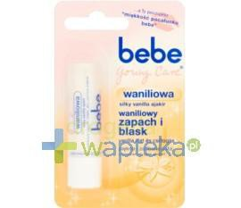 Bebe Young Care Pomadka ochronna Waniliowa 4,9g  whited-out