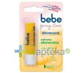 BEBE Young Care Szminka Słoneczna SPF 20 4,9g  whited-out